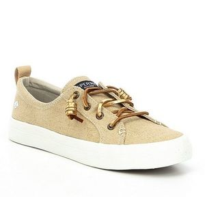 Sperry Crest Vibe canvas lace up sneakers